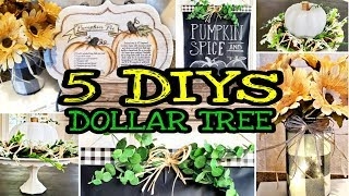 Dollar Tree DIY Fall Farmhouse Decor