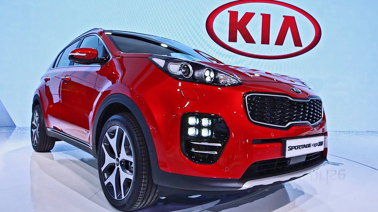 kia sportage gt line 2016 interior exterior design youtube. Black Bedroom Furniture Sets. Home Design Ideas