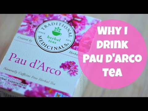 Why I Drink Pau d'Arco Tea | By: What Chelsea Eats