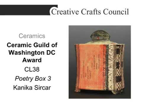 Creative Crafts Council 30th Biennial Exhibition Awardees