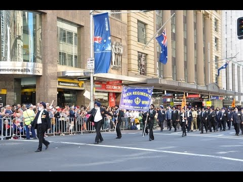 Sikhs at Sydney ANZAC Day Parade 2015