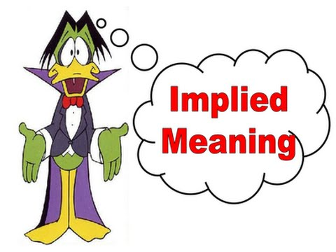 implied means