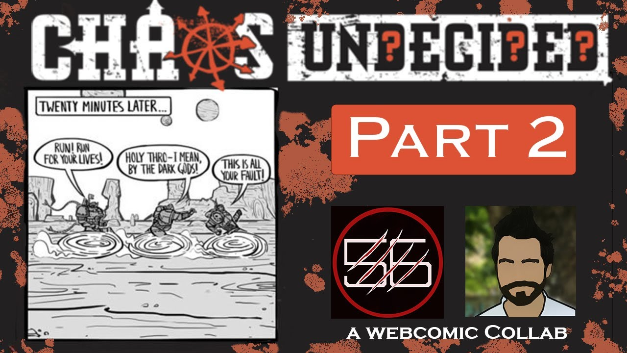 Chaos Undecided #2: Black is the New Black | A Warhammer 40k Webcomic Dub