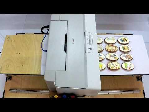 Пищевой Планшетный Принтер. Печать на пряниках