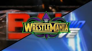 Wrestlemania 2018 Universe Match Card