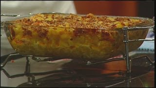 Mac 'n' Cheese With Lobster & Bacon