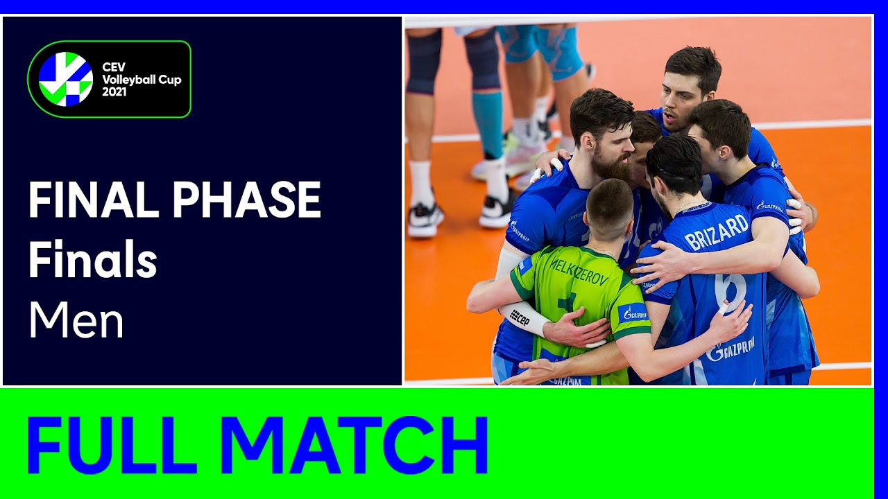 Zenit SAINT PETERSBURG vs. Dinamo MOSCOW - CEV Volleyball Cup 2021 Men Finals