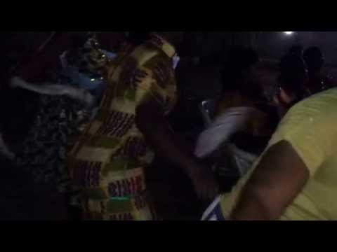 "Ghana- Party ""bobobo"" traditional dance music in Accra-Ghana"