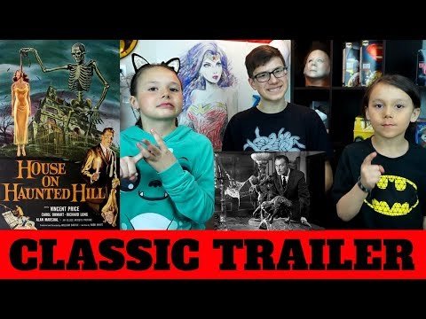 House on Haunted Hill Trailer (1959) REACTION!!!