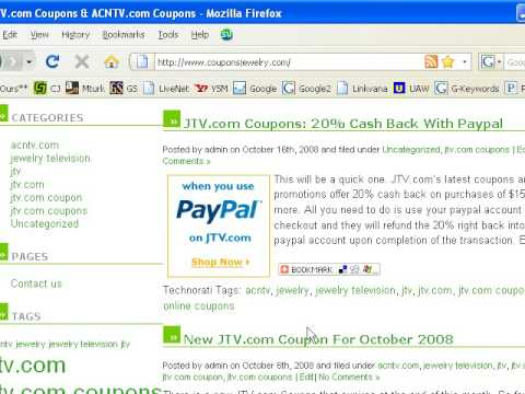 JTV.com Coupons Update and much more