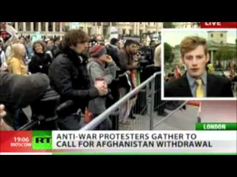 London Anti-War demo - Afghanistan and Libya