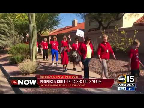 Gov. Ducey proposes pay increase for Arizona teachers