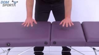 Видео о Массажный стол Art Of Choice Joy Blue