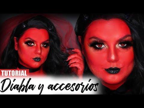 Diabla Maquillaje Y Accesorios Tutorial Maryandpalettes Youtube