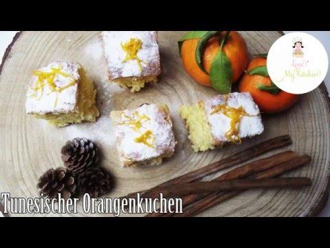 Rezept | Tunesischer Orangenkuchen | Orange Cake | Saftiger Kuchen | Orientalisch | Kuchen