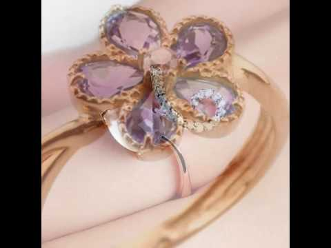 Gold ring for girls without diamond and stone