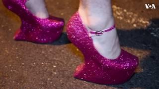 ԱՌԱՆՑ ՄԵԿՆԱԲԱՆՈՒԹՅԱՆ  Վաշինգտոնի ԼԳԲՏ համայնքի բարձրակրունկ կոշիկներով վազքի ամենամյա մրցույթը