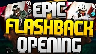 EPIC FLASHBACK PULL! MADDEN 16 FLASHBACK PACK OPENING #1