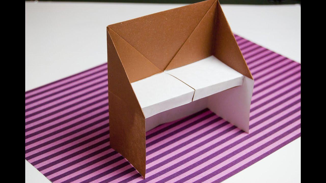 Como hacer un piano de papel origami papiroflexia youtube - Como hacer jarrones de papel ...