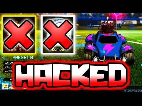 I HACKED This YOUTUBER'S Account!! ( Stole ALPHA BOOST in Rocket League )