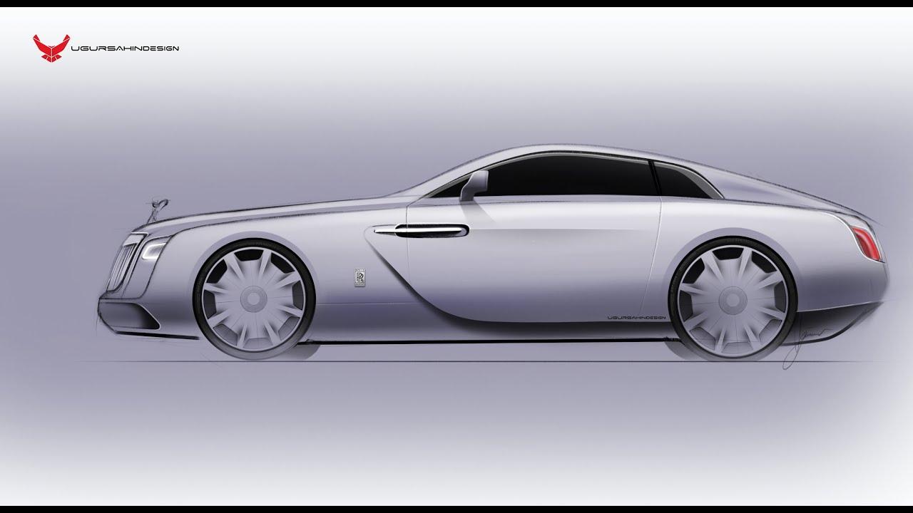 Rolls Royce Concept Sketch - iPad Pro - Apple Pencil ...