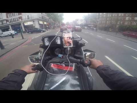 MARYLEBONE ROAD E EUSTON ROAD | HONDA PAN EUROPEAN ST 1100