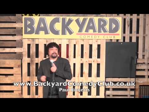 Paul Ricketts  -  Live At The Backyard Comedy Club