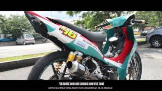 Underbone  Championship Race Bike !! INSTALLS  and TEST Uma Racing CDI (DYNO. more HP)