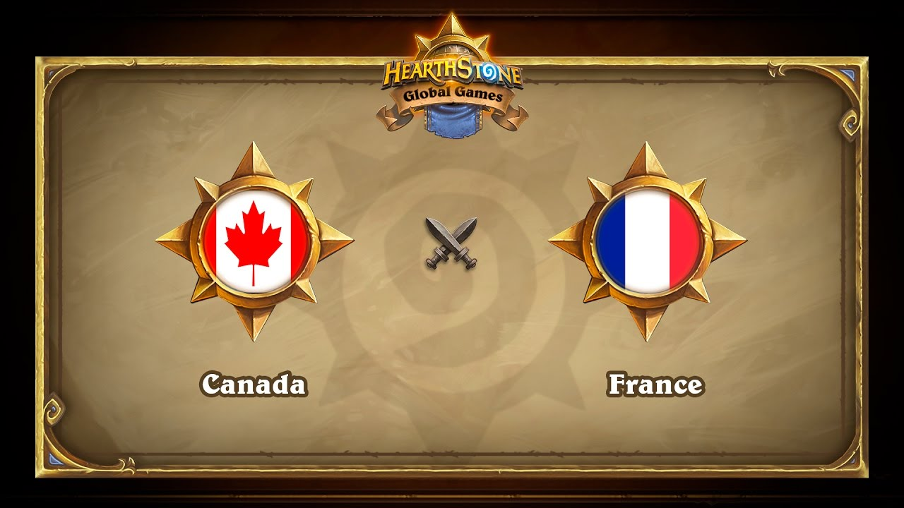 Canada vs France, Hearthstone Global Games Group Stage