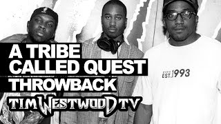 A Tribe Called Quest freestyle 1996 never heard before - Westwood Throwback