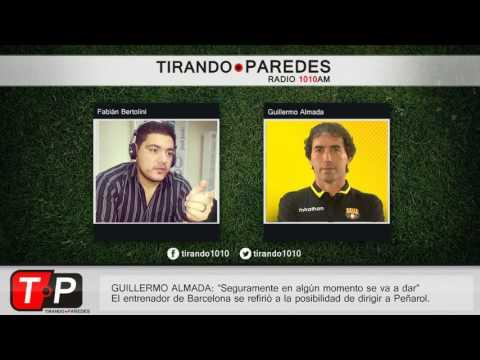 """Guillermo Almada sobre dirigir a Peñarol: """"Seguramente en algún momento se va a dar"""""""