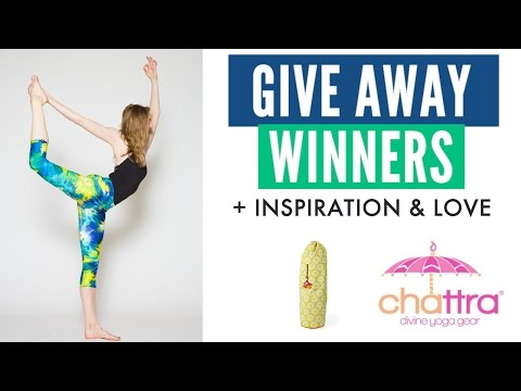 Giveaway Winners   Inspiration   Love   Thank You Chattra