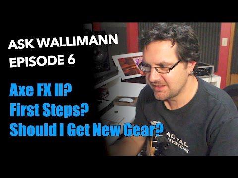 Ask Wallimann: First Steps
