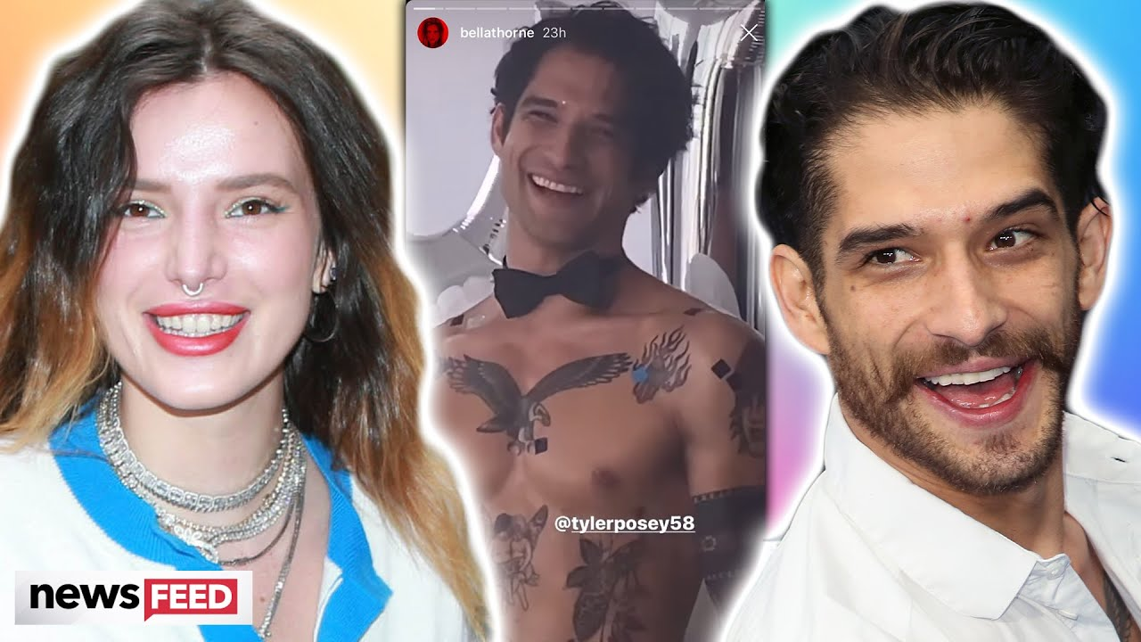 Bella Thorne Films Shirtless Project With Ex Tyler Posey!