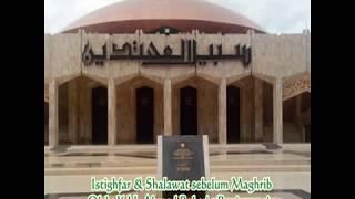 Istighfar & Shalawat sebelum Maghrib