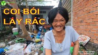 Kỳ Lạ Bà Lão Xem Bói Đổi Lấy Rác Mang Về Chất Đầy Nhà Ở Gò Công