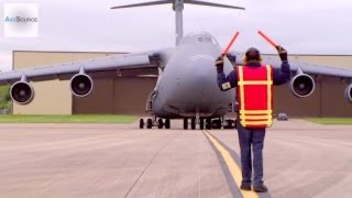 C-5 Galaxy Landing at RAF Fairford