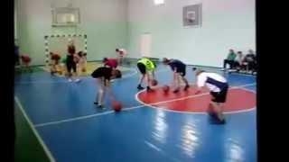 урок физкультуры  Специализация баскетбол  2 часть