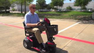 Drive Medical Ventura 3 Wheel Mobility Scooter