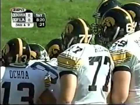 2004 Outback Bowl Iowa 37 Fla 17 1st Half