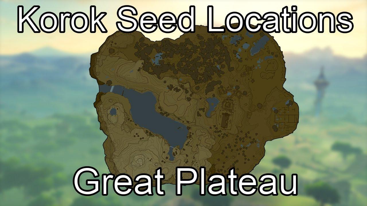 Korok Seed Guide - Great Plateau