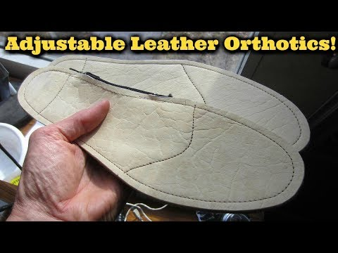 Watch Me Make Custom Orthotics!  Adjustable, Natural, Comfor