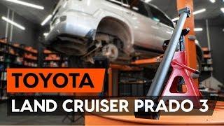 Como mudar Braço oscilante suspensão da roda TOYOTA LAND CRUISER (KDJ12_, GRJ12_) - vídeo grátis online