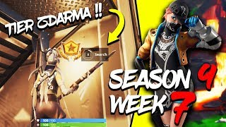 WHERE is the FOURTH FREE TIER FOR SEASON 9 (Week 7)-Fortnite Battle Royale CZ/SK