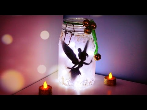How to Make - Tinker Bell Fairy Jar