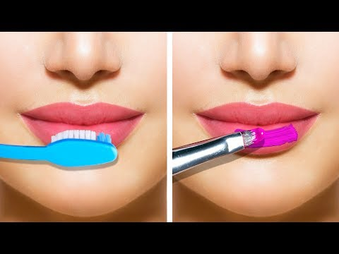30 AMAZING MAKEUP HACKS AND TRICKS thumbnail