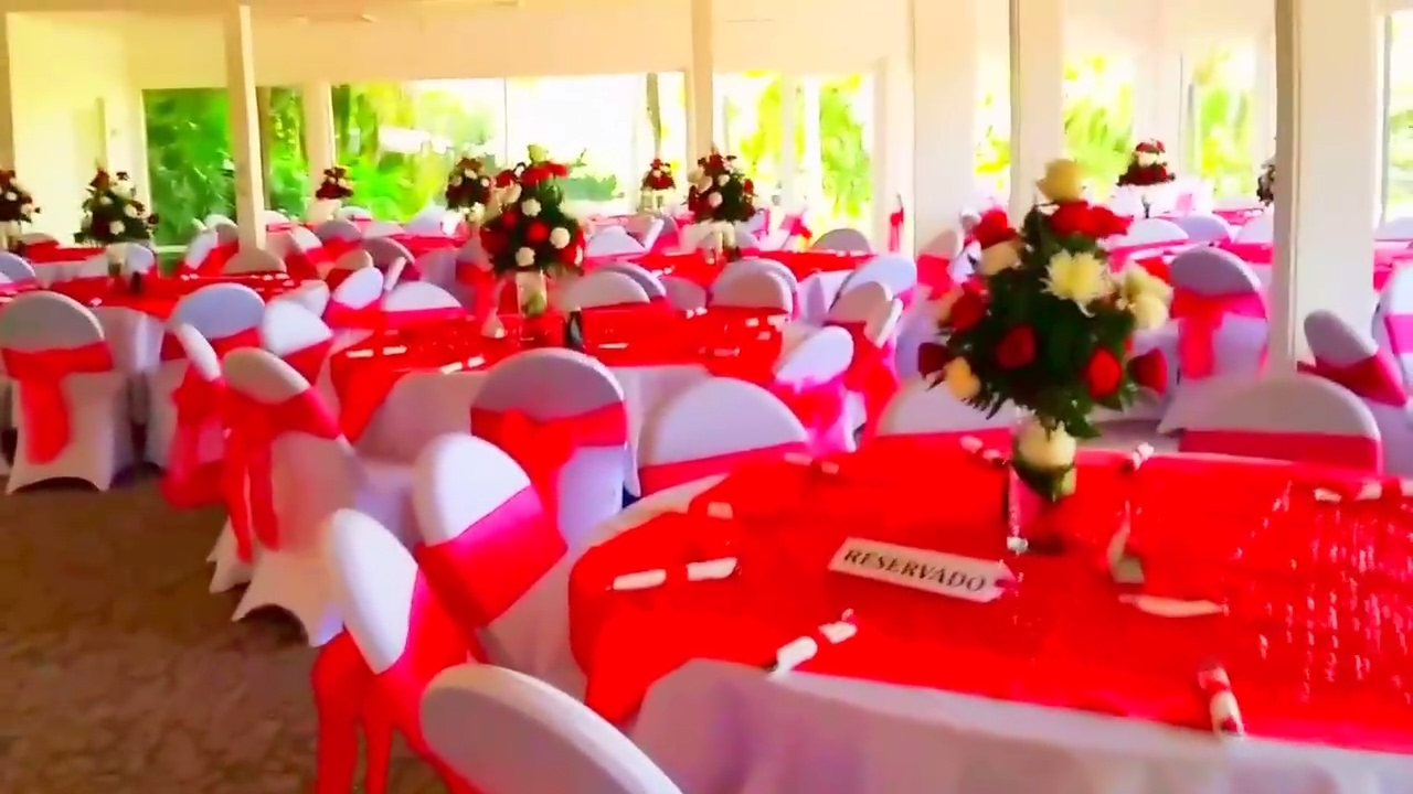 Decoracion de boda color rojo youtube - Decoracion en rojo ...