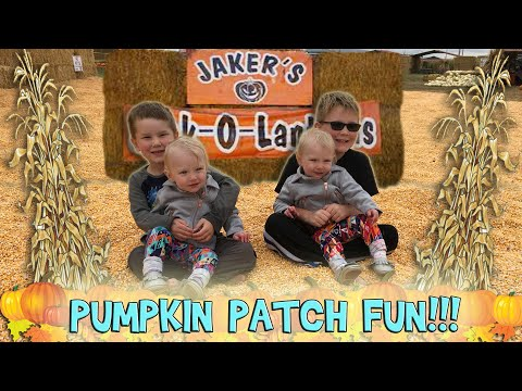 FUN AT THE PUMPKIN PATCH!!! (Day 658)