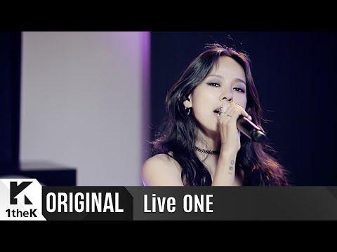 Live ONE(라이브원): Lee Hyori(이효리)_Black