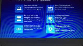 Entrar al modo avanzado de Windows 8 y Windows 10